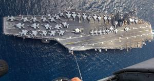 У Середземне море увійшов авіаносець США
