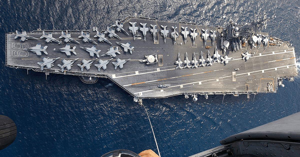 Авіаносець USS Eisenhower