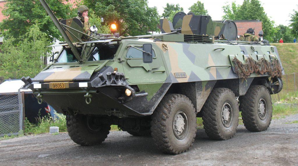 Pasi (Patria XA-180 Series). Фото з відкритих джерел.