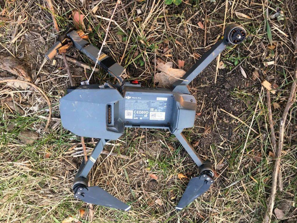 Квадрокоптер бойовиків DJI Mavic Pro. Фото: 93-тя бригада.
