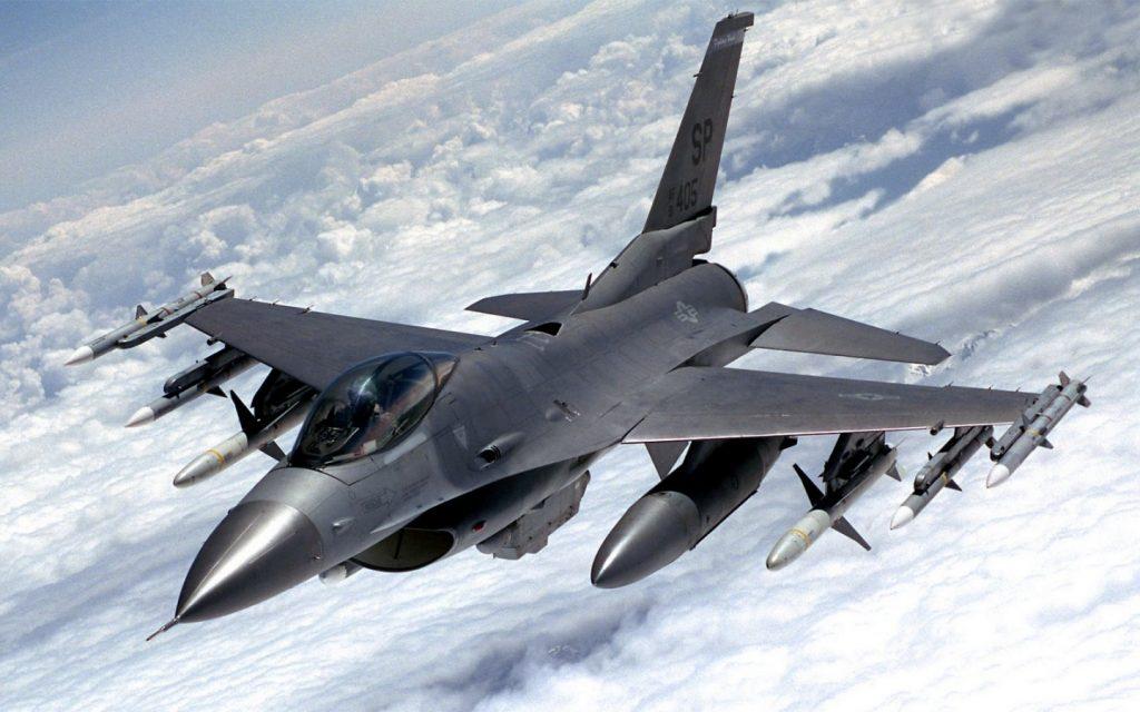 F-16. Фото з відкритих джерел.