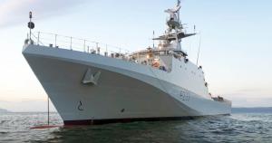 HMS Tamar введуть до складу Королівського флоту