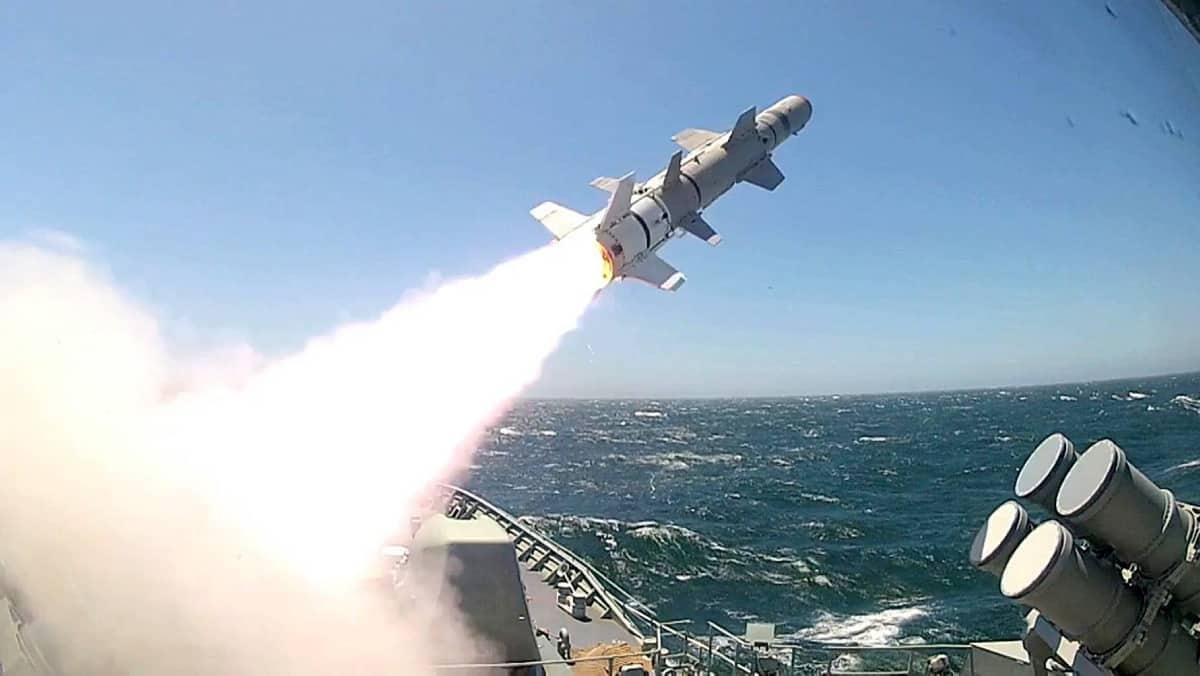 Протикорабельна ракета Harpoon. Фото: navy.gov.au