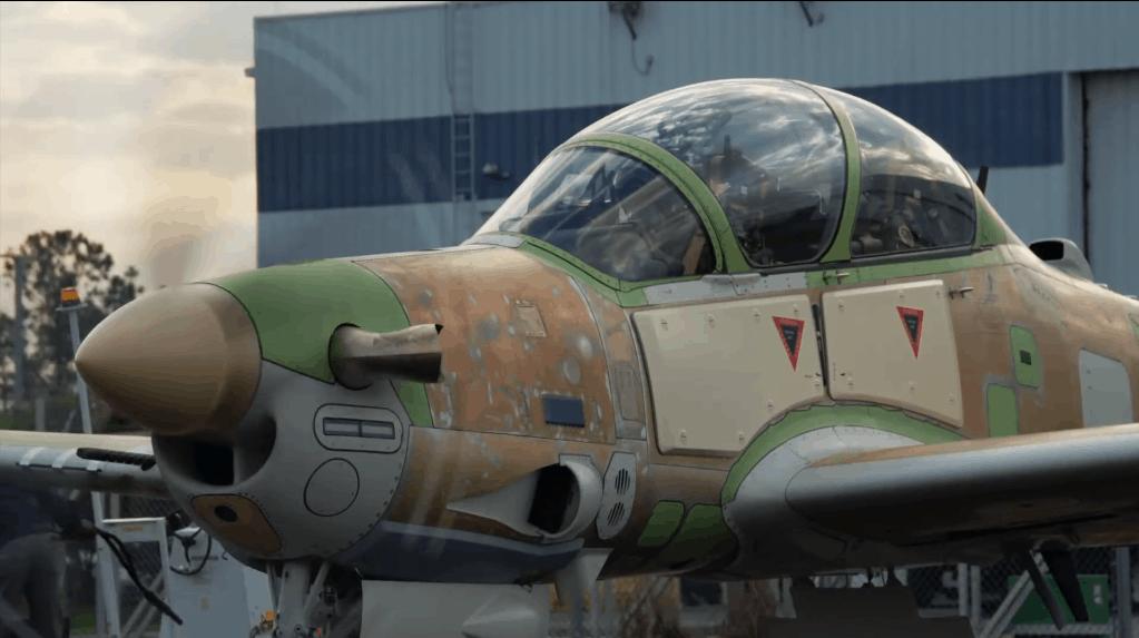 EMB-314 Super Tucano (А-29) для ВПС Нігерії. Фото: Embraer