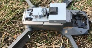 Холодноярівці збили дрон з вибухівкою