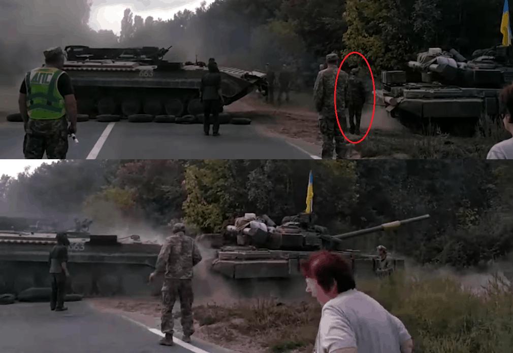 Кадр з відео ДБР