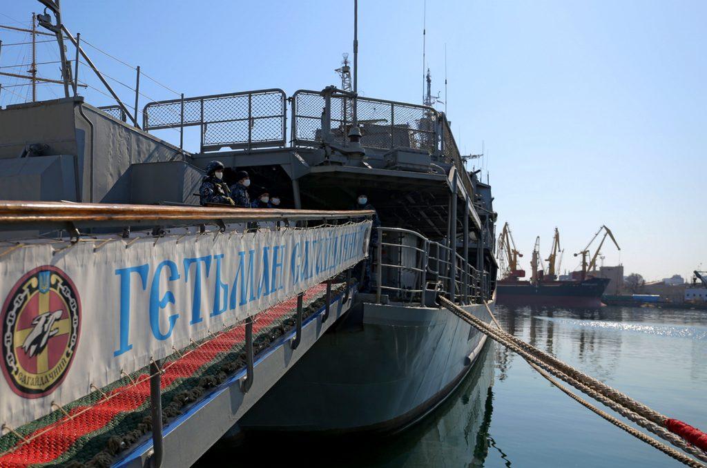 2 квітня. Місця базування корабельно-катерного складу ВМС ЗС України в м. Одеса. Фото: Міноборони