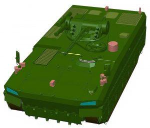 Проект БМП компанії «Українська бронетехніка»