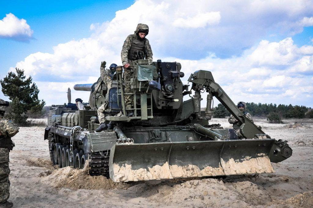 Навчання ЗСУ 2020 рік. Фото: Військова частина А2399