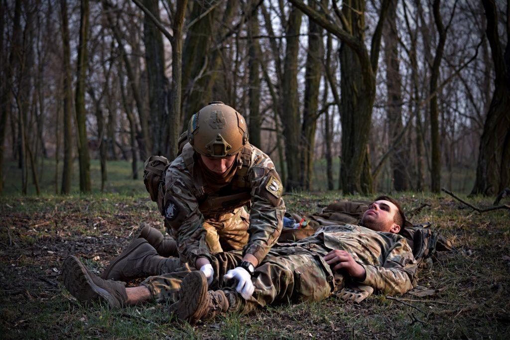 Навчання 36-ї окремої бригади морської піхоти. Фото: Міноборони