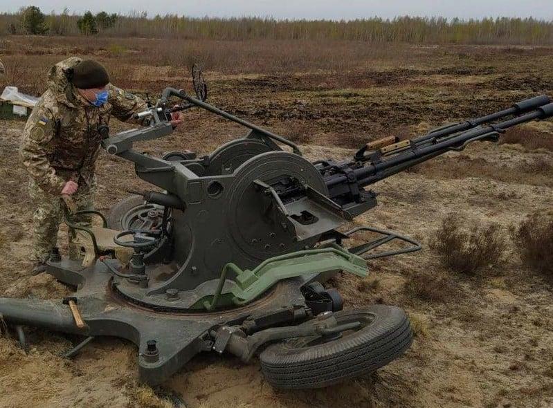 Випробування локалізованої та модернізованої в Україні 23-мм зенітної установки ЗУ-23
