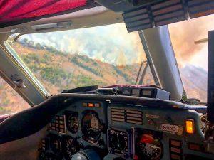 Рятувальники гасять пожежу в Зоні відчуження