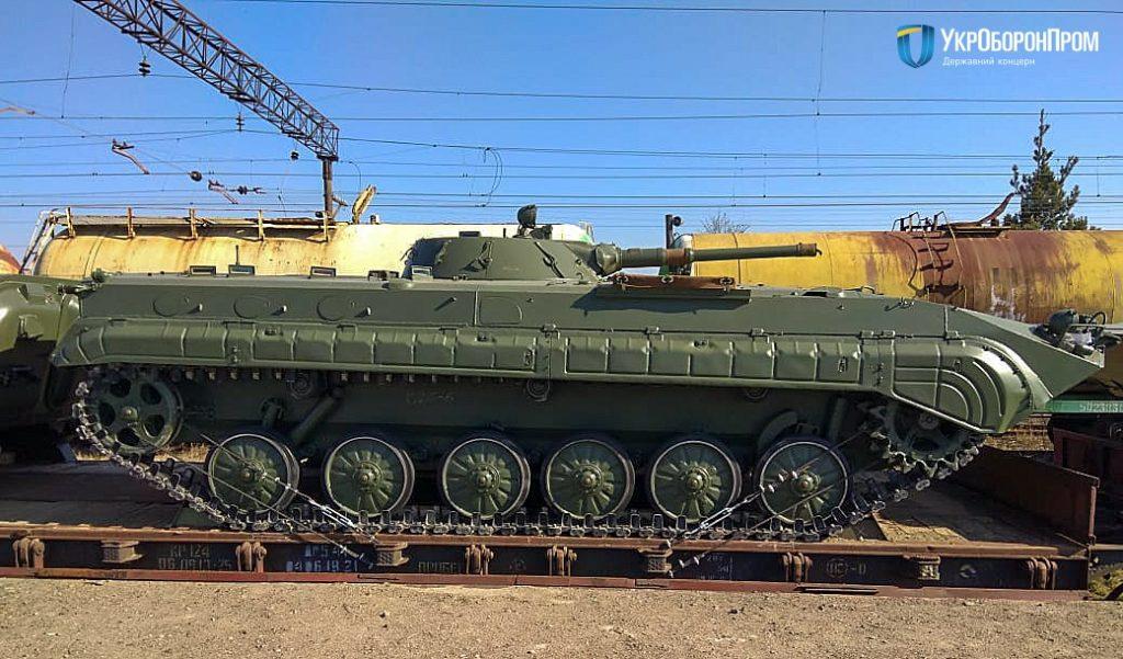 Доставка БМП-1. 2020 рік. Фото: Укроборонпром