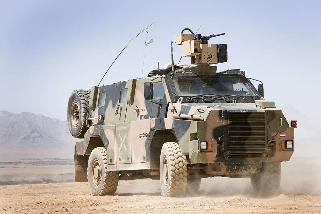 Бронеавтомобіль Bushmaster армії Нідерландів