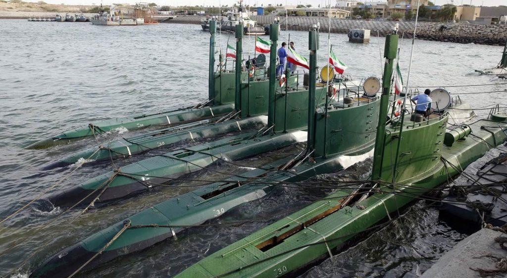 Підводні човни Ірану класу Ghadir. Фото: Іранські ЗМІ