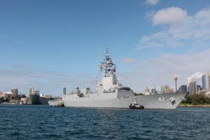Новий есмінець Австралії прибув в пункт базування