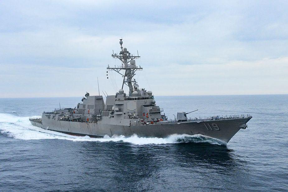 Есмінець USS Delbert D. Black (DDG 119)