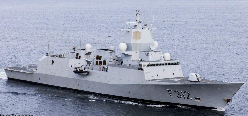 HNoMS Otto Sverdrup (F312). Фото з відкритих джерел
