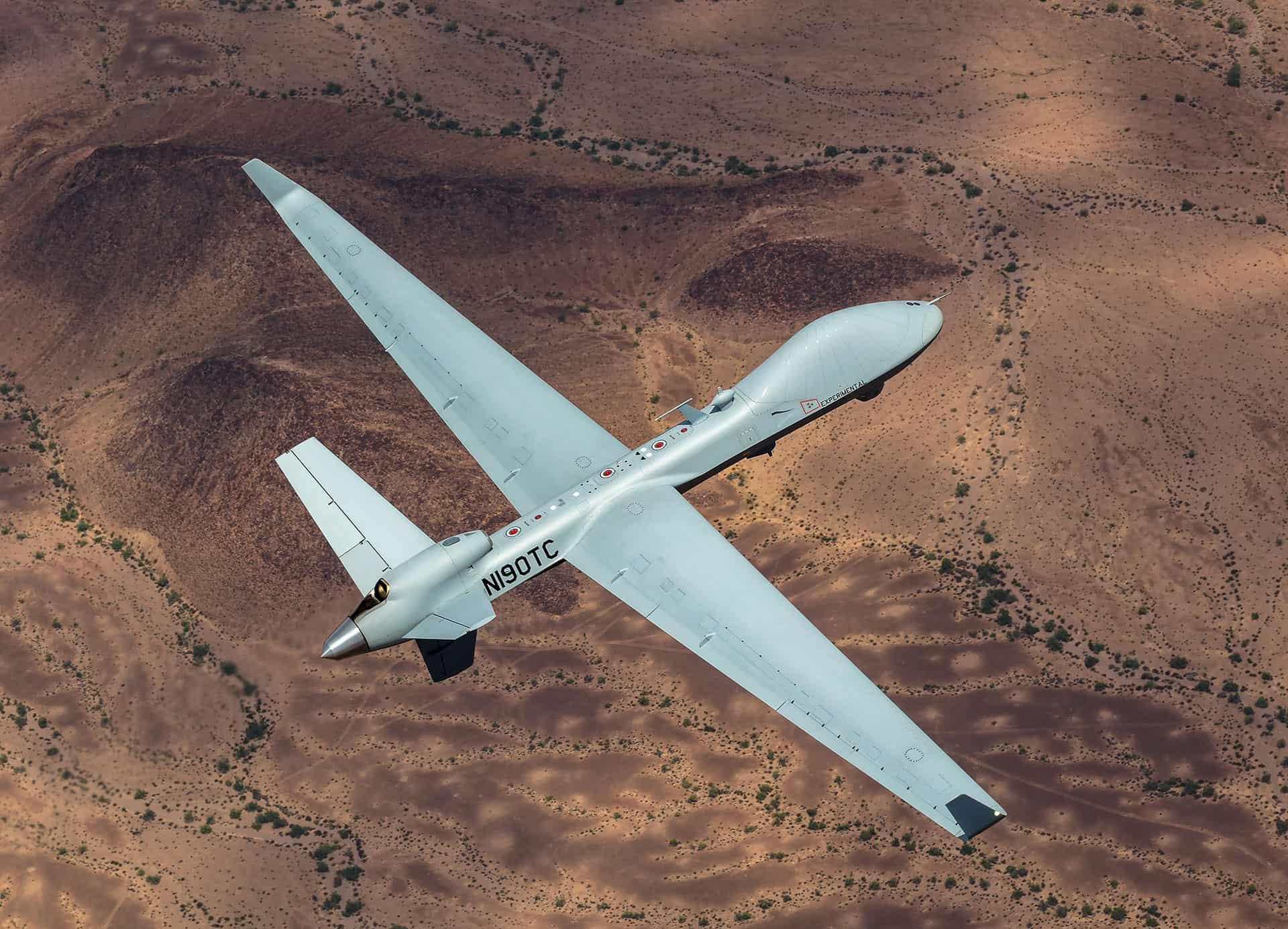 MQ-9B SkyGuardian. Фото: General Atomics Aeronautical Systems