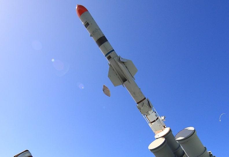 Протикорабельна ракета Harpoon Block II. Фото: navy.gov.au