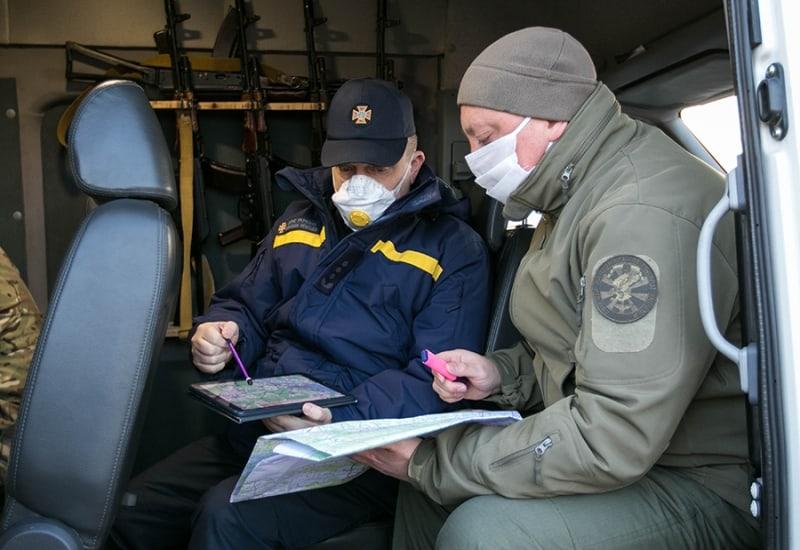 Координація роботи між підрозділами БАК НГУ та ДСНС