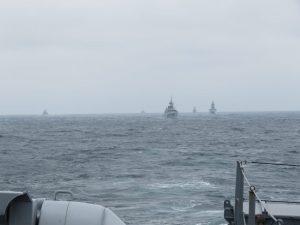 Військово-морська група НАТО провела навчання в Чорному морі