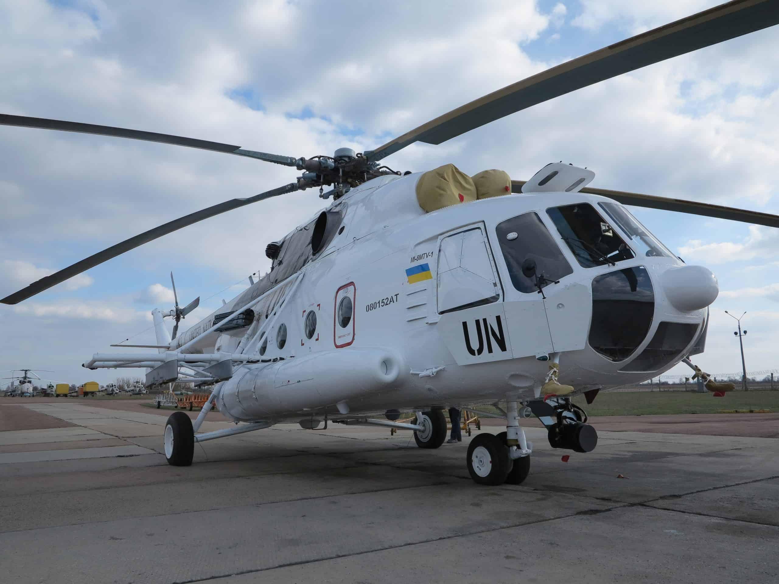 Мі-8 МТВ-1 переданий до Сухопутних військ ЗСУ