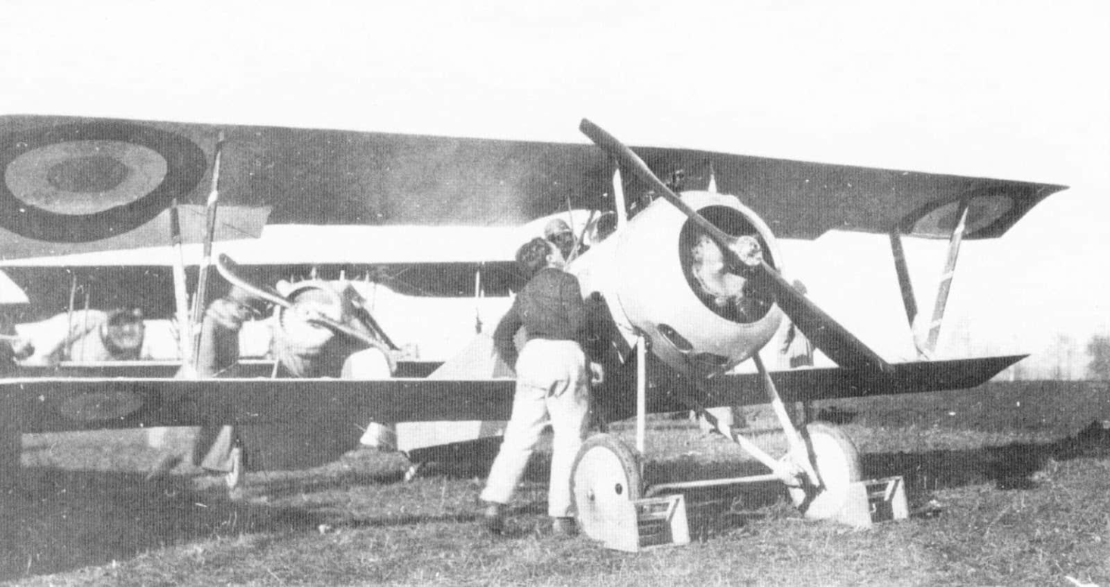 «Ньюпор» французької ескадрильї