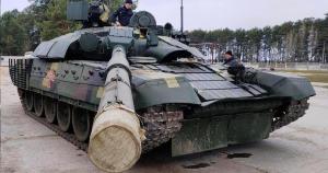 На полігоні випробовують модернізований Т-72