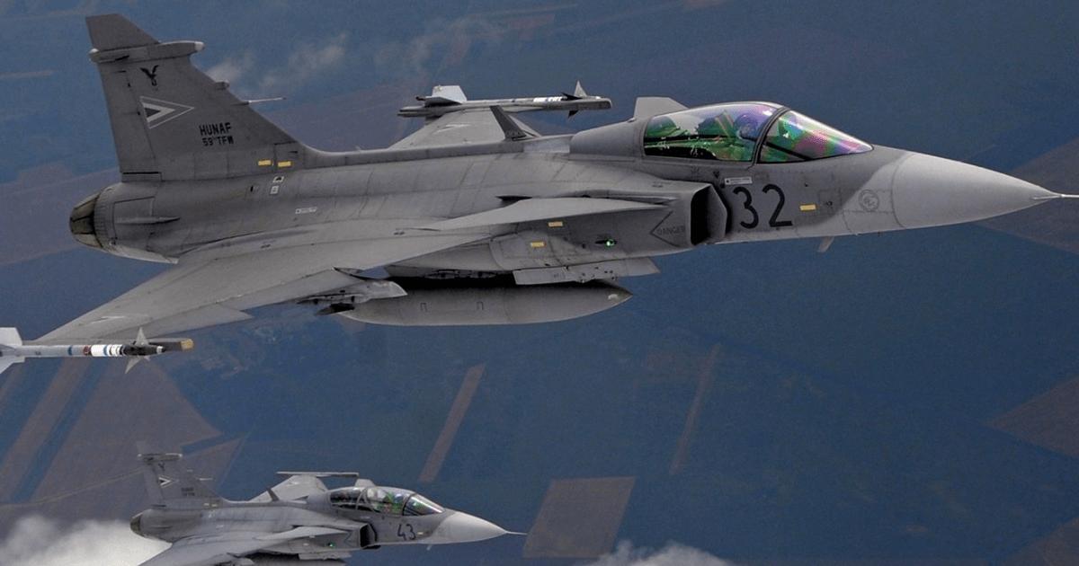 JAS 39 Gripen. Фото з відкритих джерел.