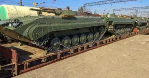 До України прибуло 37 БМП-1