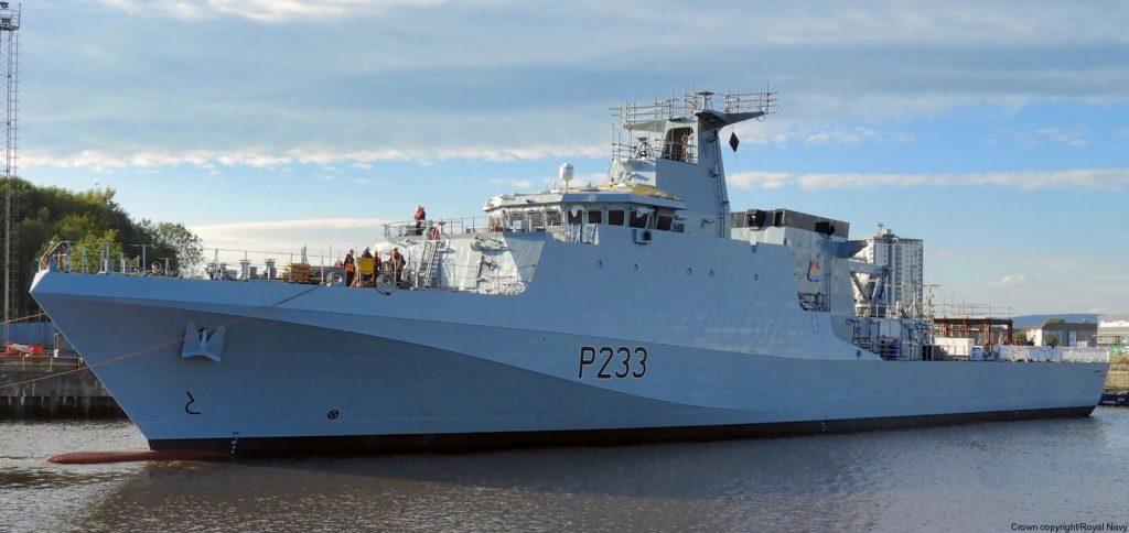 HMS Tamar. Фото з відкритих джерел