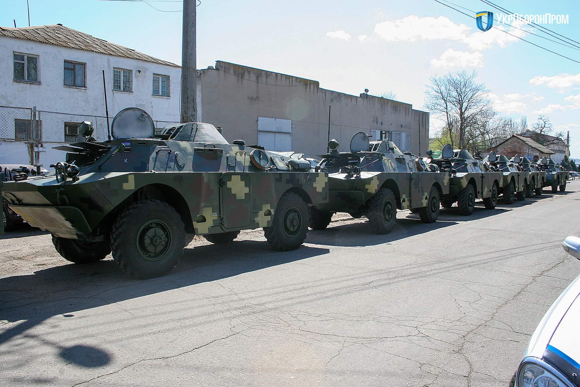 Партія відремонтованих та модернізованих БРДМ-2Л1