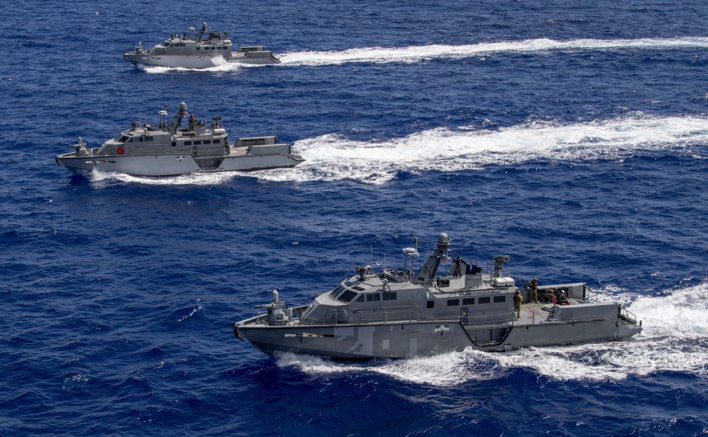 Швидкісні патрульні катери типу Mark VI ВМФ США
