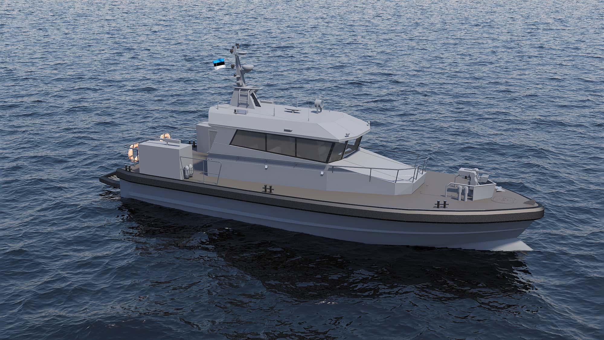 Патрульний катер для ВМС Естонії Patrol 18WP