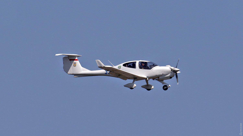 Патрульний літак DA40 Diamond Державної прикордонної служби України