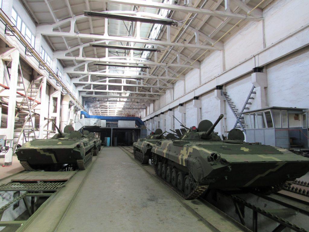 Передані 30 березня 2020 року БМП-1 та БМП-2