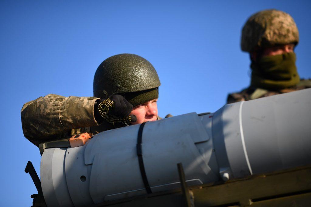 Підготовка до ракетних стрільб «Вільха-М» на Державному випробувальному полігоні «Алібей» 25 квітня 2020 року