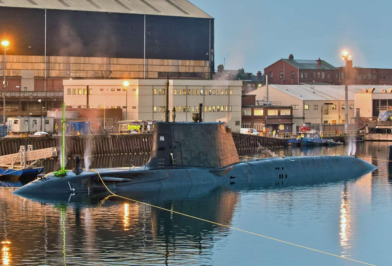 Підводний човен HMS Audacious Королівського ВМФ Великої Британії 1