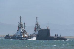 Новий британський підводний човен прибув до пункту базування