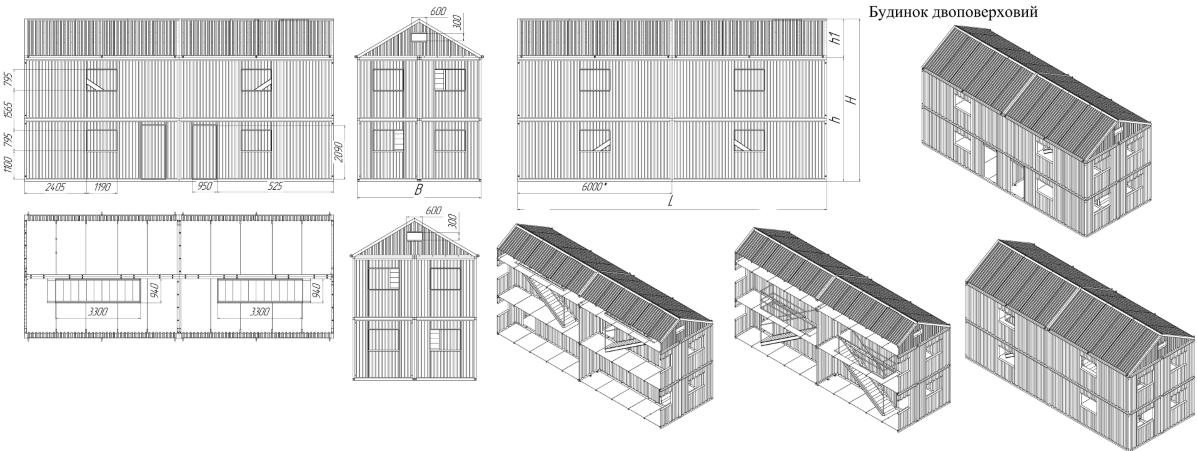 План будівель майбутнього комплексу на Широкому лані