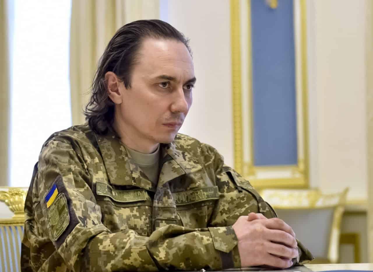 Полковник Іван Без'язиков після звільнення з полону