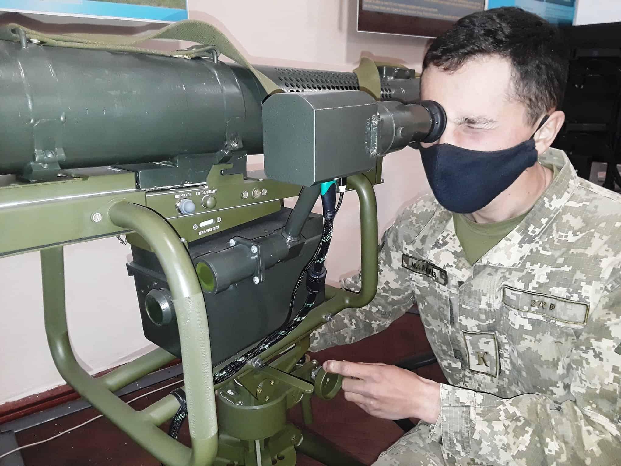 Процес підготовки операторів ПТРК у військовій академії в Одесі