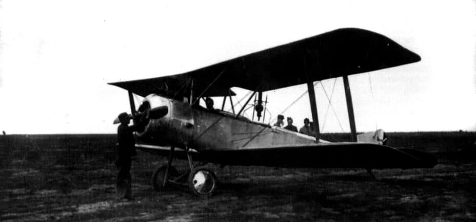 «Сопвіч» з ескадрильї SOP 582