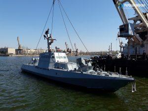 """""""Вишгород"""" та """"Нікополь"""" спущено на воду після докового ремонту"""