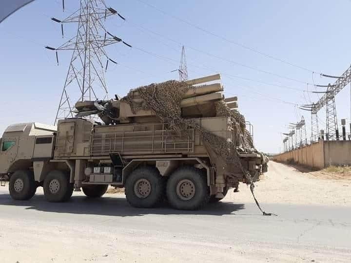«Панцирь-С1Э» у Лівії