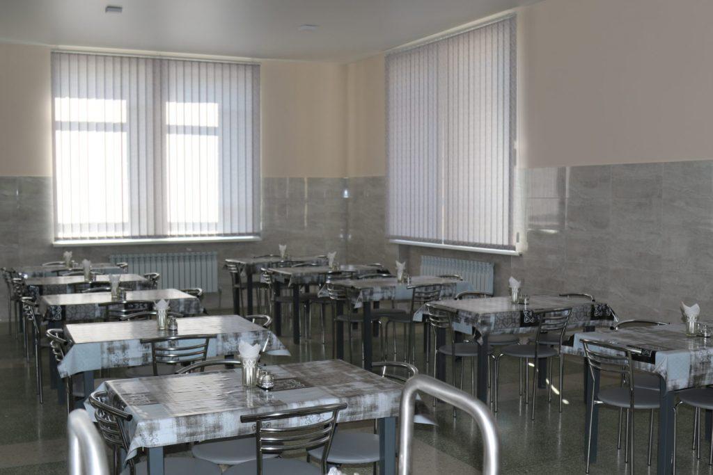 Зал для прийому їжі Командуванням Сухопутних військ ЗСУ