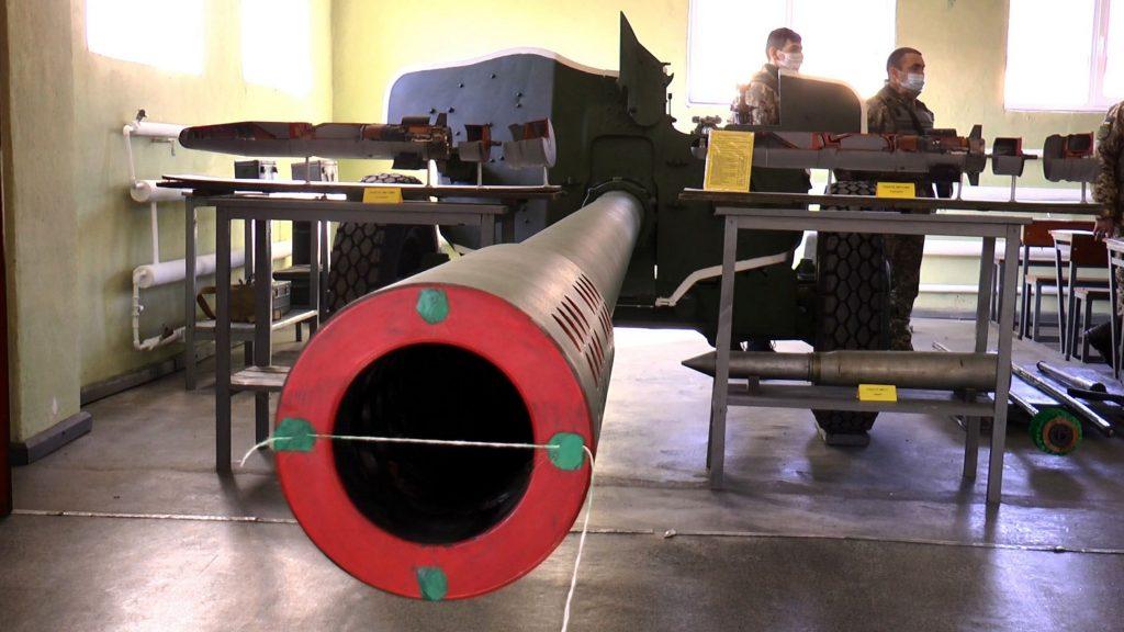 Школа протитанкової артилерії. Фото: Міноборони