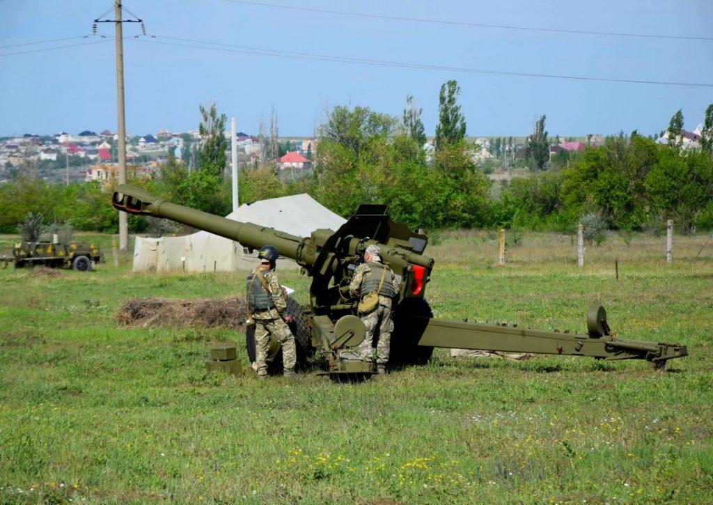 152-мм гармата-гаубиця Д-20 Фото: 406 ОАБр
