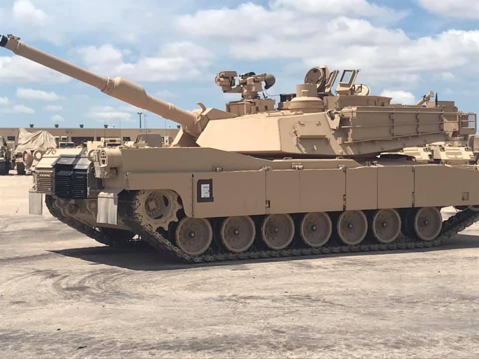 M1A2 SEP v3 Abrams. Фото: Військові США